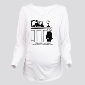 Attorney Cartoon 549 Long Sleeve Maternity T-Shirt