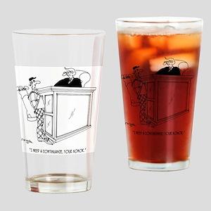 Golf Cartoon 5491 Drinking Glass