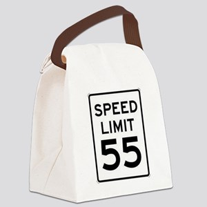 55-MPH Speed Limit Day Canvas Lunch Bag