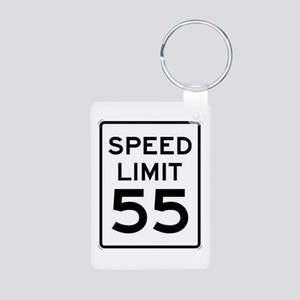 55-MPH Speed Limit Day Keychains