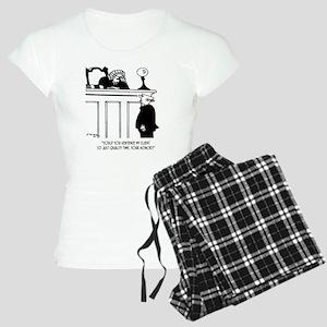 Lawyer Cartoon 5298 Women's Light Pajamas
