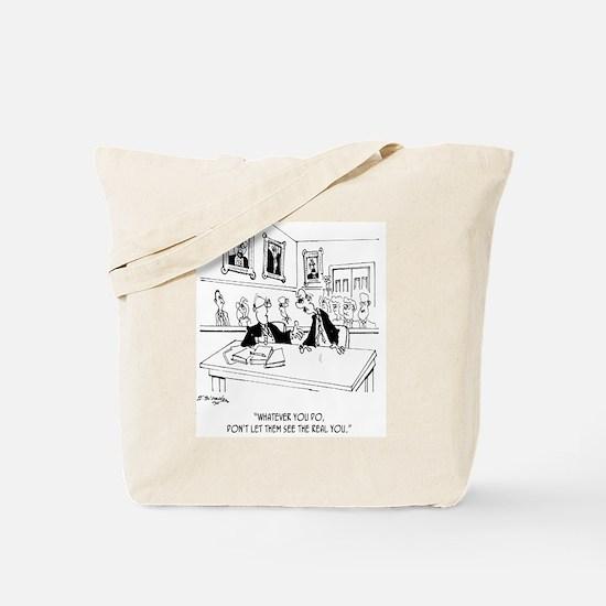 Attorney Cartoon 4970 Tote Bag