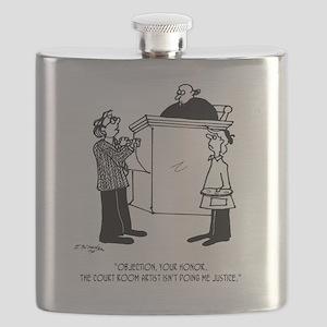 Art Cartoon 3691 Flask