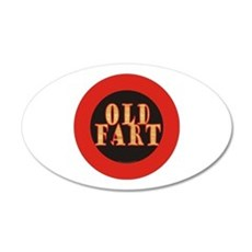 Old Fart Decal Wall Sticker