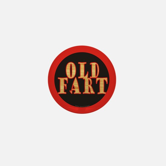 Old Fart Mini Button