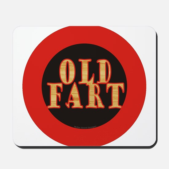 Old Fart Mousepad