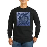 Abstract 3D Christian Cross Long Sleeve T-Shirt