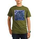 Abstract 3D Christian Cross T-Shirt
