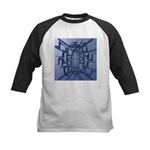 Abstract 3D Christian Cross Baseball Jersey