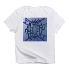 Abstract 3D Christian Cross Infant T-Shirt
