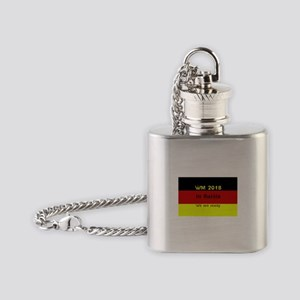 WM 2018 in Russia Flask Necklace