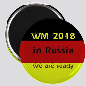 WM 2018 in Russia Magnets