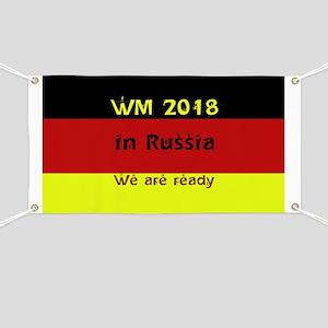 WM 2018 in Russia Banner