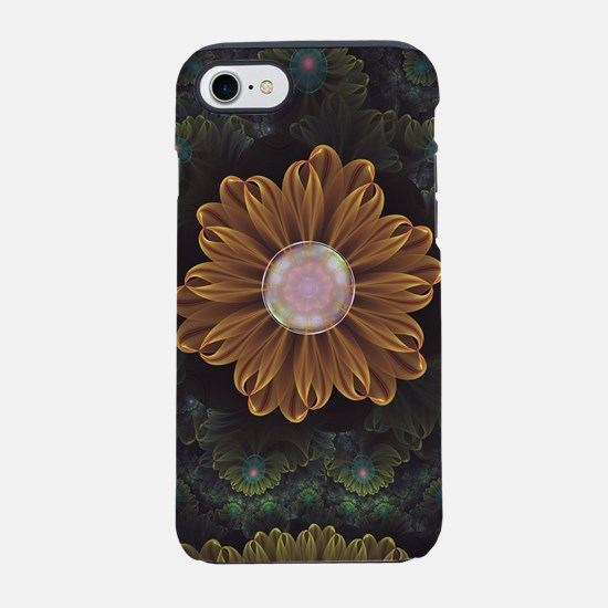 Abloom in Autumn Leaves with F iPhone 7 Tough Case