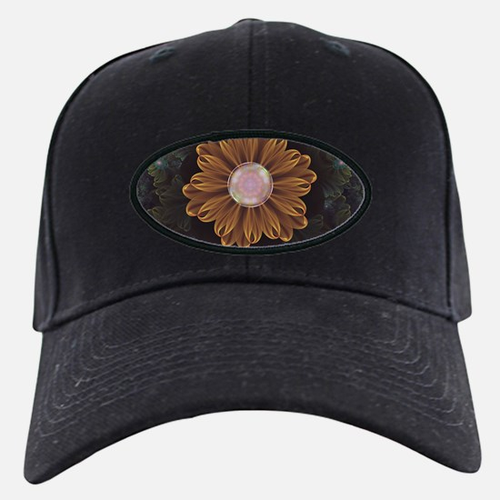 Abloom in Autumn Leaves with Baseball Hat