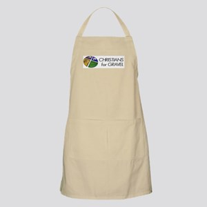 Christians for Gravel BBQ Apron