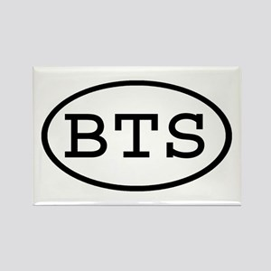 BTS Oval Rectangle Magnet