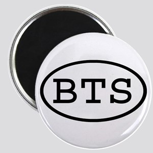 BTS Oval Magnet