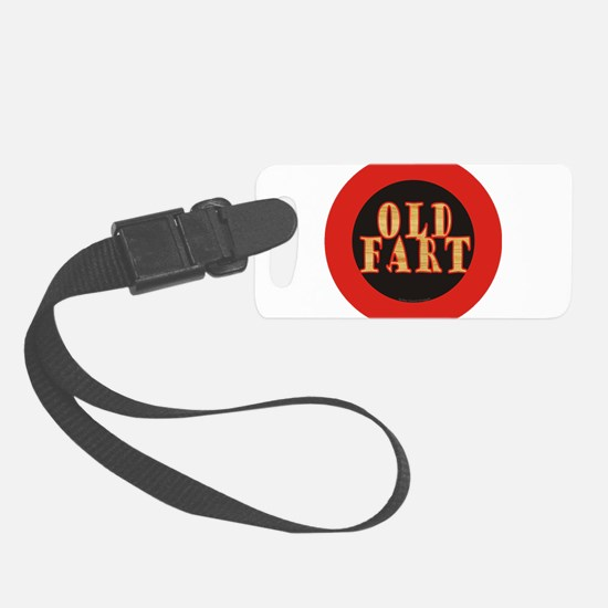 Old Fart Luggage Tag