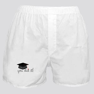 You Did It! Boxer Shorts