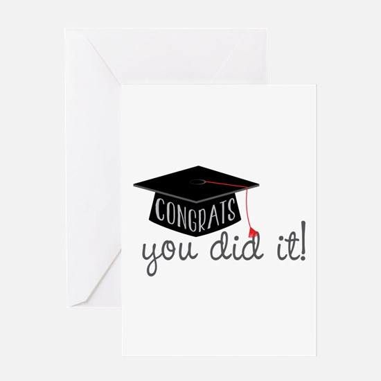 You Did It! Greeting Cards