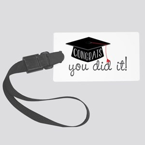 You Did It! Luggage Tag