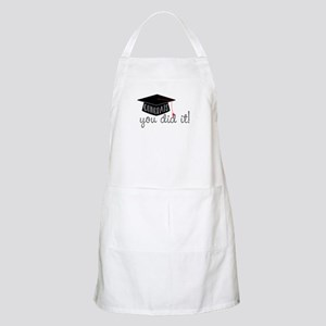 You Did It! Apron