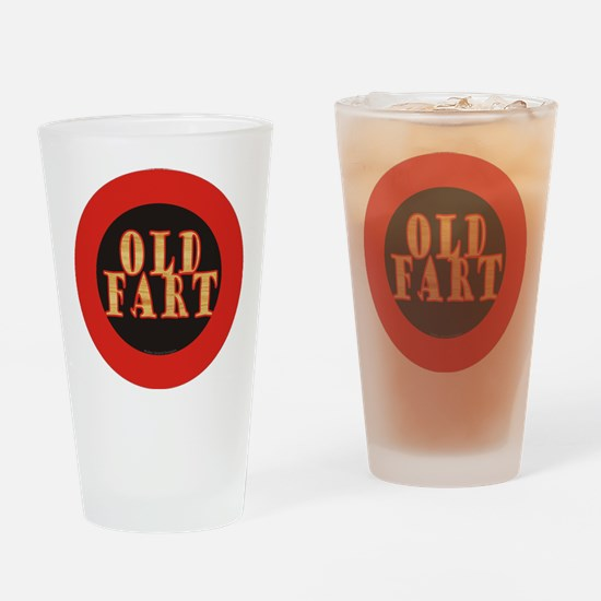 Old Fart Drinking Glass