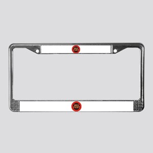 Old Fart License Plate Frame