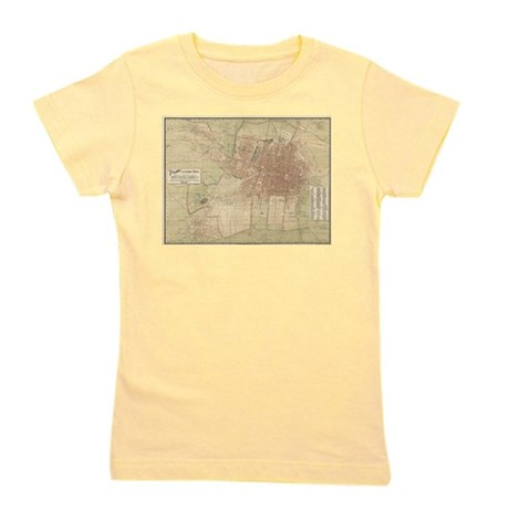 Vintage Map of Mexico City (1907) T-Shirt