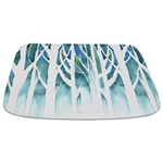 Winter Silhouette Bathmat