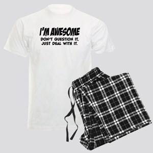 I'm Awesome Men's Light Pajamas