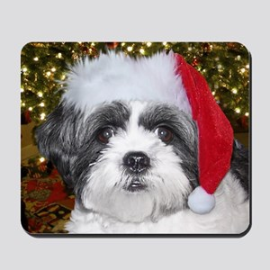 Christmas Shih Mousepad