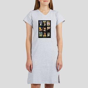 Beagle Famous Art--V Women's Nightshirt