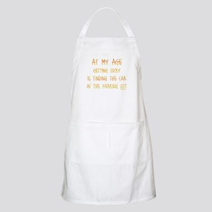 At My Age Forgetful Memory Saying Apron