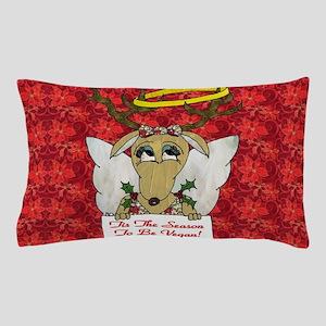 Vegan Reindeer Angel Pillow Case