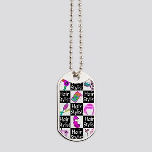 FOXY HAIR STYLIST Dog Tags