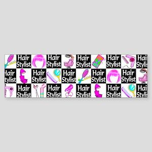FOXY HAIR STYLIST Sticker (Bumper)