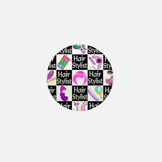 FOXY HAIR STYLIST Mini Button