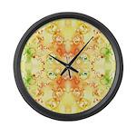 Cellular Hopscotch Large Wall Clock