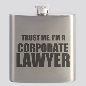 Trust Me, I'm A Corporate Lawyer Flask