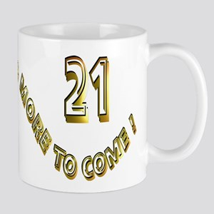 21st Birthday Mugs