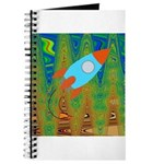Abstract Rocket Ship Journal