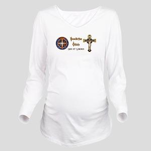 Benedictine Oblate Long Sleeve Maternity T-Shirt