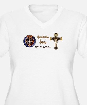 Benedictine Oblate Plus Size T-Shirt
