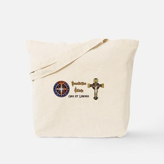 Benedictine Oblate Tote Bag