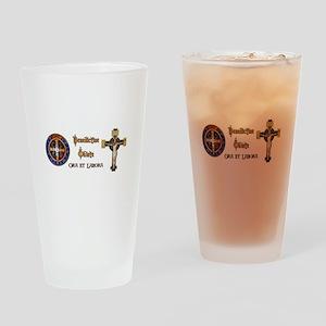 Benedictine Oblate Drinking Glass