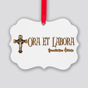 Benedictine Oblate Ornament