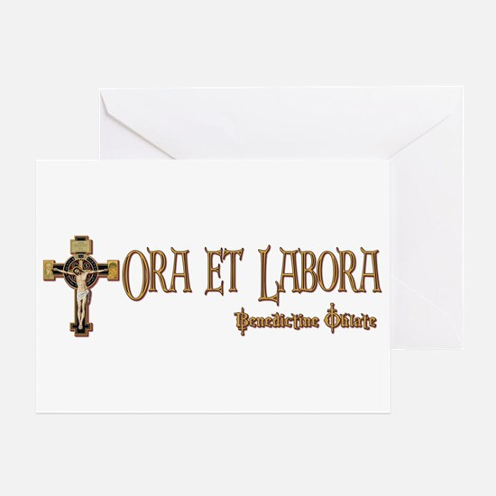 Benedictine Oblate Greeting Cards