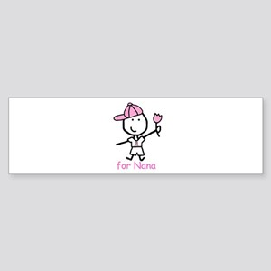 Pink Ribbon - Nana2 Bumper Sticker